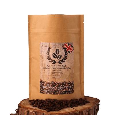 Delicato   Decaffeinated Coffee Beans Whole or Ground