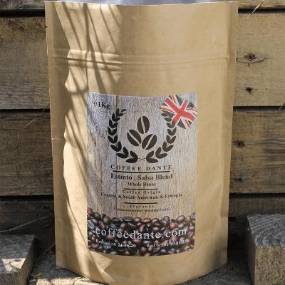 Estinto | Salsa Blend Coffee Beans Whole or Ground